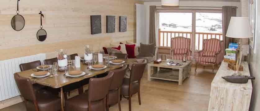 Chalet Marlene - living area